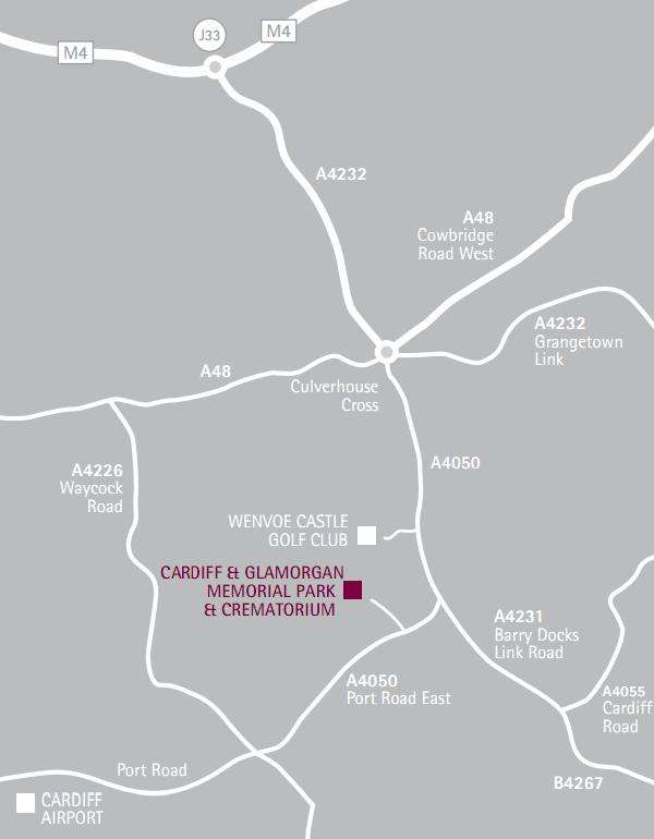 Find Us Cardiff and Glamorgan Memorial Park and Crematorium